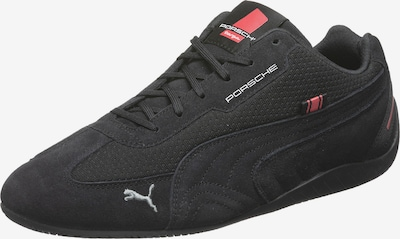 PUMA Athletic Shoes 'PL SpeedCat' in Fire red / Black / White, Item view