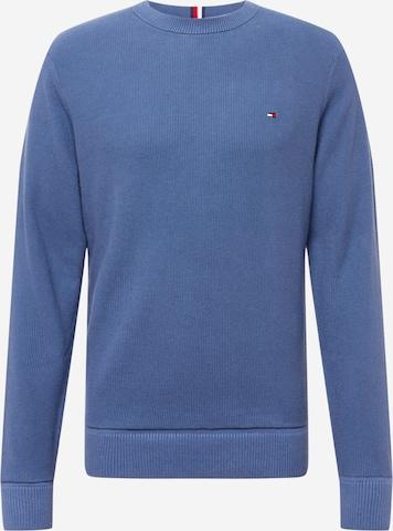 TOMMY HILFIGER Sweter w kolorze niebieski