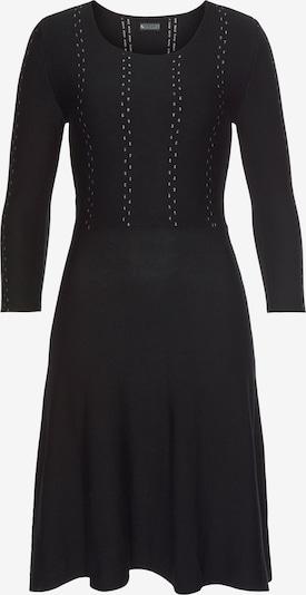 LAURA SCOTT Strickkleid in schwarz / weiß, Produktansicht