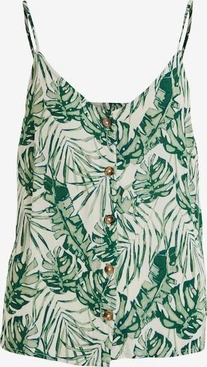 VILA Blouse 'VISANNE' in de kleur Groen, Productweergave