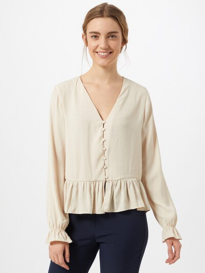 ABOUT YOU Blouse 'Mandy' in Sand: Frontal view