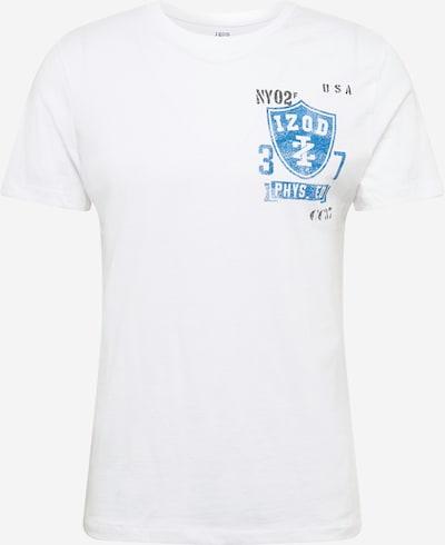IZOD Tričko - světlemodrá / bílá, Produkt