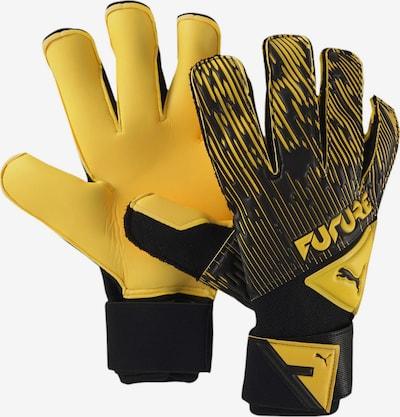 PUMA Gants de sport en jaune / noir, Vue avec produit