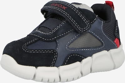 GEOX Trainers in Navy / Dusty blue / Red, Item view