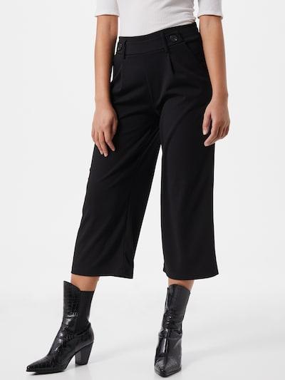 fekete Hailys Élére vasalt nadrágok 'Carla', Modell nézet