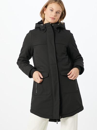 ONLY Manteau mi-saison en noir, Vue avec modèle