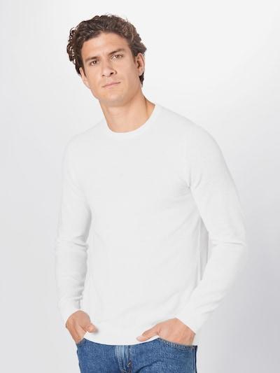 JACK & JONES Pullover in weiß: Frontalansicht