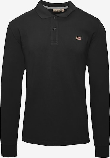 NAPAPIJRI Poloshirt in schwarz, Produktansicht