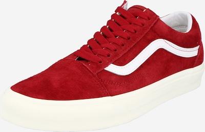 VANS Schuhe 'Old Skool' in rot / weiß, Produktansicht