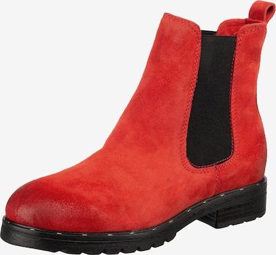 Mirapodo Schuh in rot / schwarz, Produktansicht