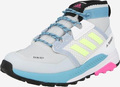 ADIDAS PERFORMANCE Boots 'Terrex Trailmaker' en turquoise / gris / vert fluo / rose, Vue avec produit