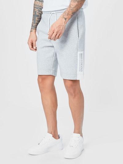 BOSS ATHLEISURE Pantalón 'Headlo' en gris claro, Vista del modelo