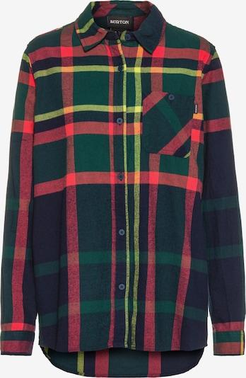 BURTON Hemd in navy / gelb / grün / rot, Produktansicht