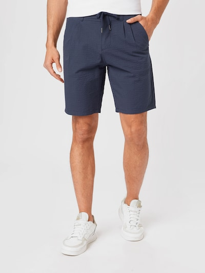 Only & Sons Chino in de kleur Blauw, Modelweergave