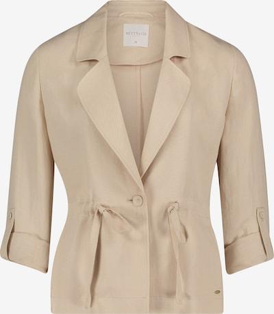 Betty & Co Blazer en beige clair, Vue avec produit