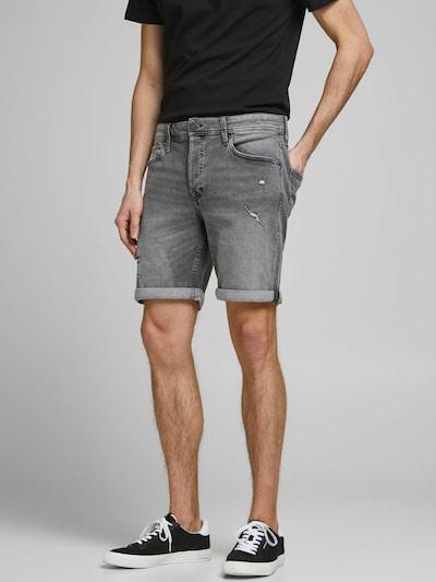 JACK & JONES Jeans 'Rick Original' in de kleur Grey denim: Vooraanzicht