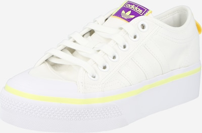 ADIDAS ORIGINALS Tenisky 'NIZZA' - žlutá / fialová / bílá, Produkt