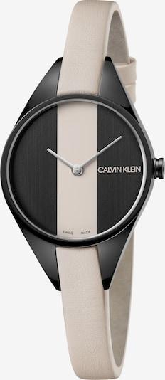 Calvin Klein Analoog horloge 'K8P237X1' in de kleur Crème / Zwart, Productweergave