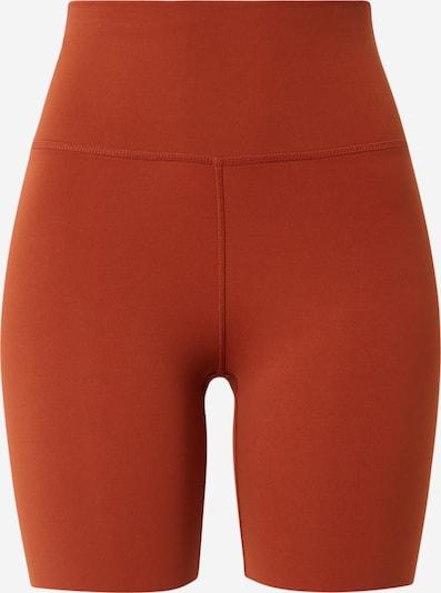 NIKE Sporta bikses 'Luxe' tumši oranžs, Preces skats