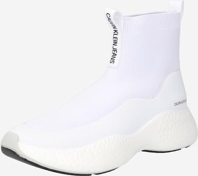Calvin Klein Jeans Hög sneaker i svart / vit, Produktvy