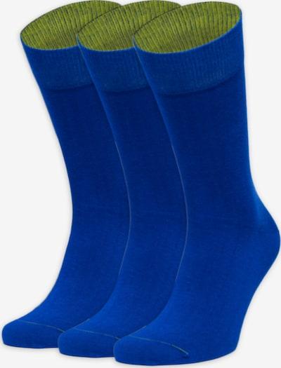 Von Jungfeld Sokken in de kleur Blauw / Groen, Productweergave