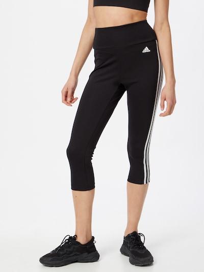 ADIDAS PERFORMANCE Spodnie sportowe w kolorze czarny / białym, Podgląd na modelu(-ce)