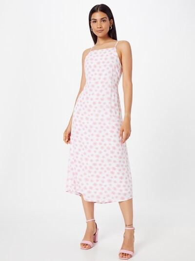 Cotton On Kleid in orange / rosa / weiß, Modelansicht