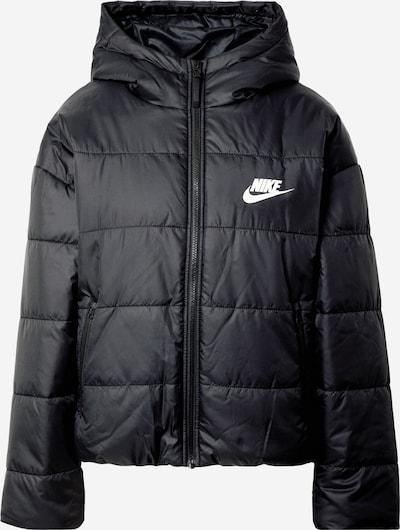 Nike Sportswear Winterjacke in schwarz / weiß, Produktansicht