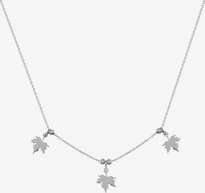 Dkeniz Ketting 'Maple Leaf' in de kleur Zilver, Productweergave