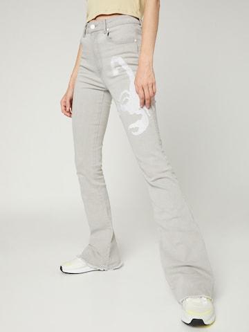 Jeans 'Franka' di VIERVIER in grigio
