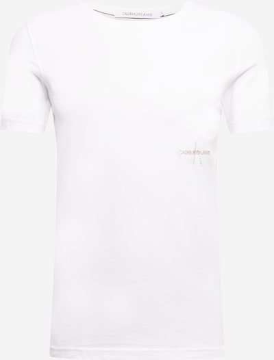 Calvin Klein Jeans T-Shirt in weiß, Produktansicht
