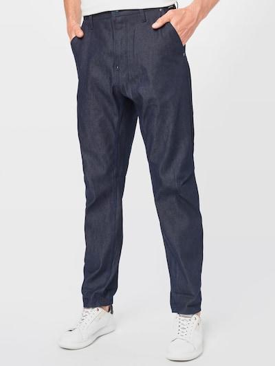 G-Star RAW Jeans in de kleur Nachtblauw, Modelweergave
