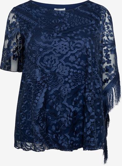 SPGWOMAN Blouse 'BLUSE MANILA' in de kleur Blauw, Productweergave