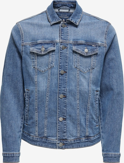 Only & Sons Between-season jacket in blue denim, Item view