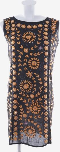 Antik Batik Kleid in S in orange / schwarz, Produktansicht