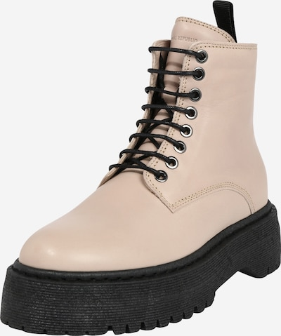 ROYAL REPUBLIQ Lace-up bootie 'Command' in Beige, Item view