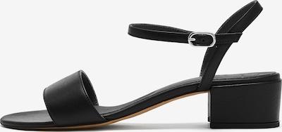 NINE TO FIVE Sandale in schwarz, Produktansicht