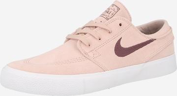 Baskets basses 'Stefan Janoski' Nike SB en rose