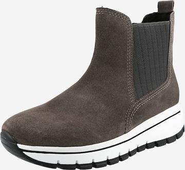 GABOR Chelsea Boots in Grey