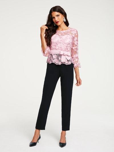 Salopeta Patrizia Dini by heine pe roz / negru, Vizualizare model