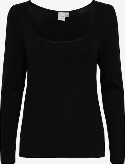 ICHI Strickpullover 'IHRUVERA' in schwarz, Produktansicht