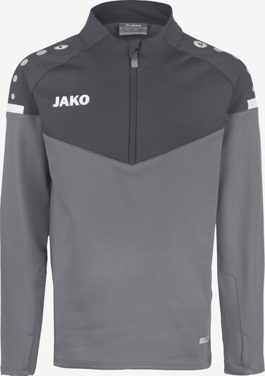 JAKO Sweatshirt in anthrazit / basaltgrau / rauchgrau / hellgrau / dunkelgrau / naturweiß, Produktansicht