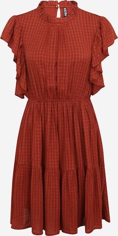 Pieces Petite Kleid 'LIZ' i rød