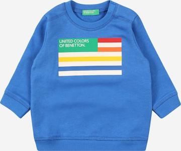 UNITED COLORS OF BENETTON Sweatshirt in Blue