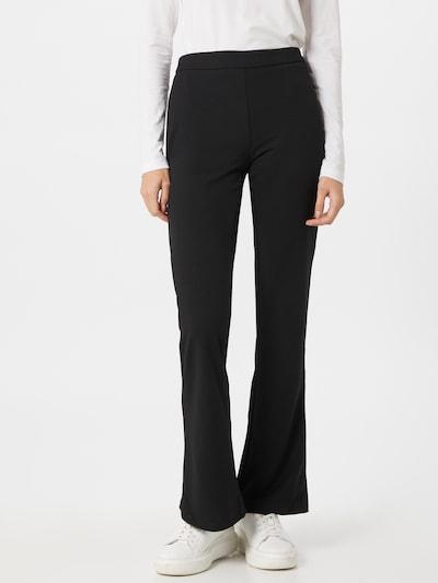 PIECES Pantalon en noir, Vue avec modèle