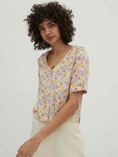 EDITED Bluse 'Naya' in mischfarben, Modelansicht