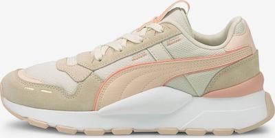 PUMA Sneaker in sand / grün / lachs / weiß, Produktansicht