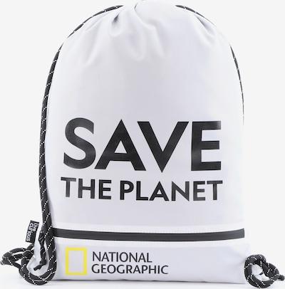 National Geographic Turnbeutel 'Saturn' in weiß, Produktansicht