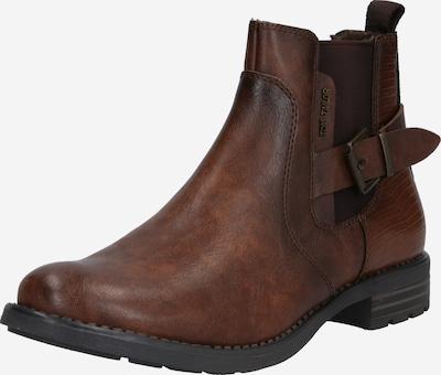 TOM TAILOR Chelsea boots i brun, Produktvy
