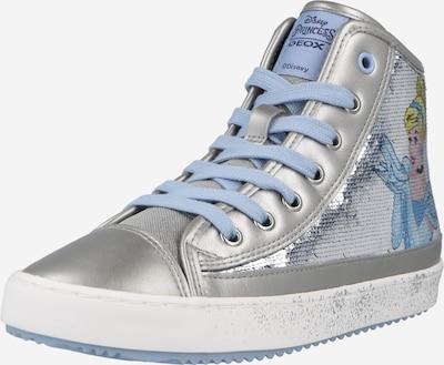Sneaker 'KALISPERA' GEOX pe bej / albastru fumuriu / galben / argintiu, Vizualizare produs